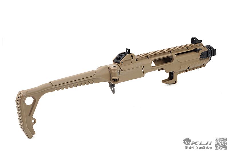 特價!AW Custom WE【沙色】克拉克 衝鋒槍 卡賓套件(G17/18/19/23/34/35)