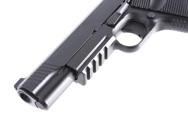 現正優惠中! BELL 701 M45A1軍版瓦斯手槍,短槍(附槍盒)