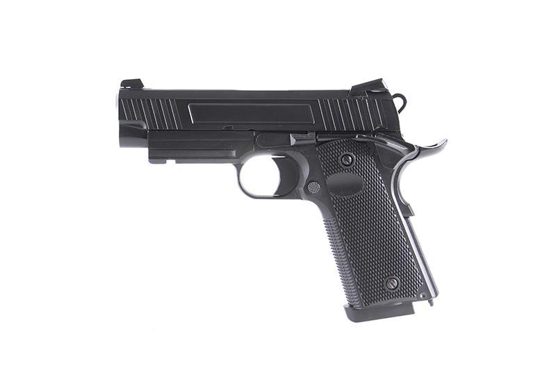 現正優惠中! BELL706 M45A1 短版手槍 瓦斯手槍 短槍(附槍盒)