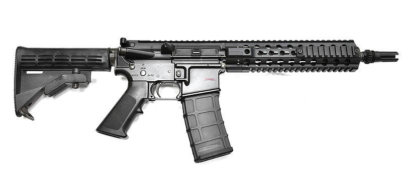 GHK M4 GBB MOD1 瓦斯氣動步槍(原廠SEAL刻印版),瓦斯槍,長槍