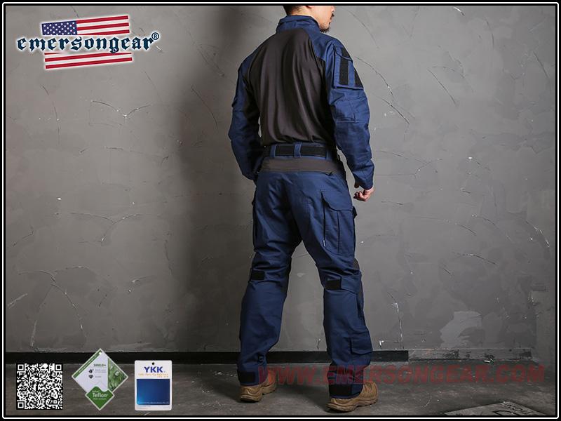 EmersonGear 愛默生【海軍藍-30腰】 藍標系列 G3作戰長褲
