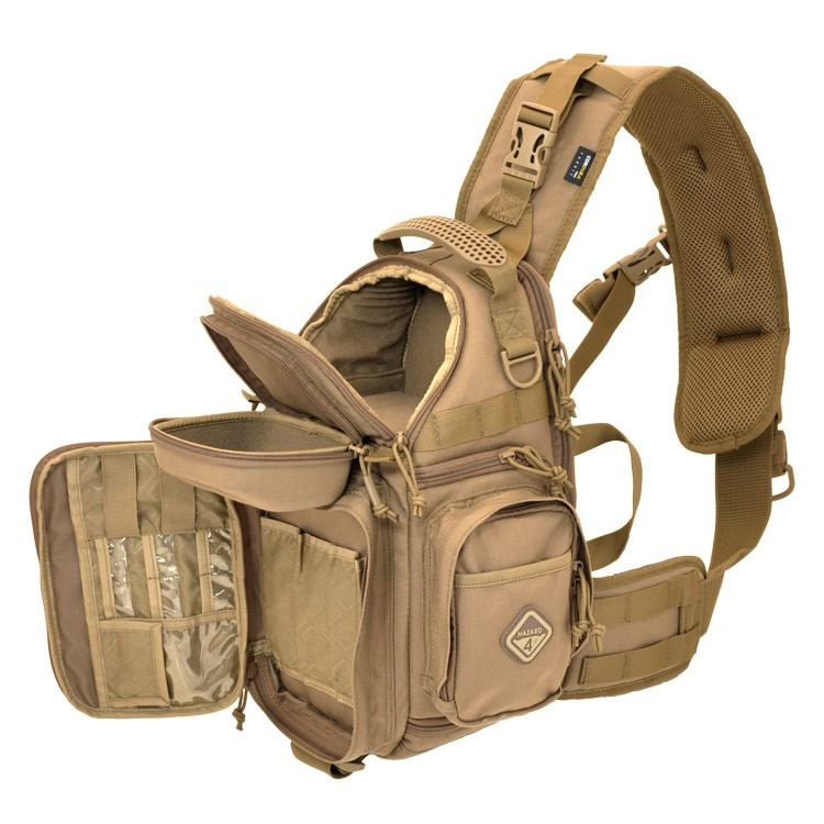 HAZARD4【狼棕色】Freelance 8L單肩斜背包 攝影包 郵差包