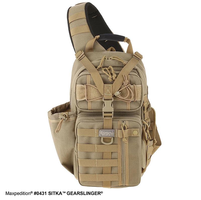 MAXPEDITION 【黑色】SITKA GEARSLINGER 15L單肩後背包 通勤包