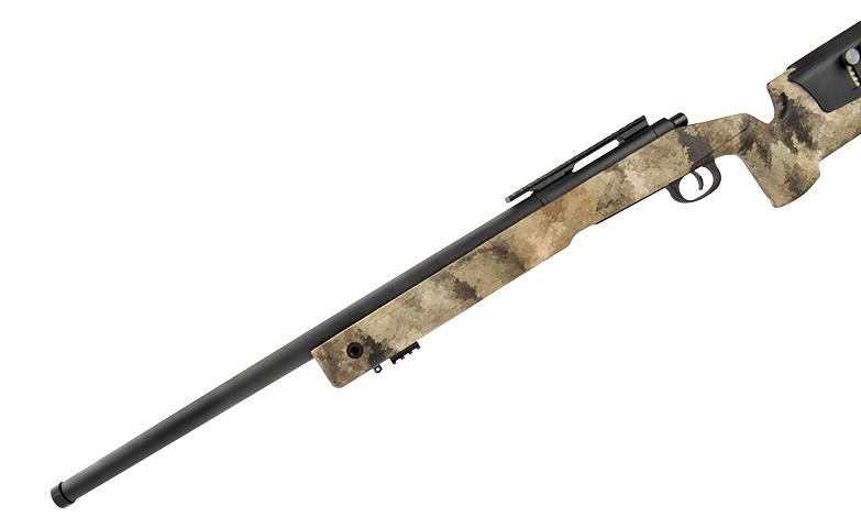 LANCER TACTICAL【廢墟迷彩】M40A3 手拉空氣狙擊槍 AT-AU