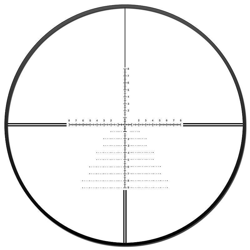 DISCOVERY 發現者 ED 6-24X50SF 頂級前置 真品狙擊鏡,瞄具,瞄準鏡,抗震,高清晰,防水防霧