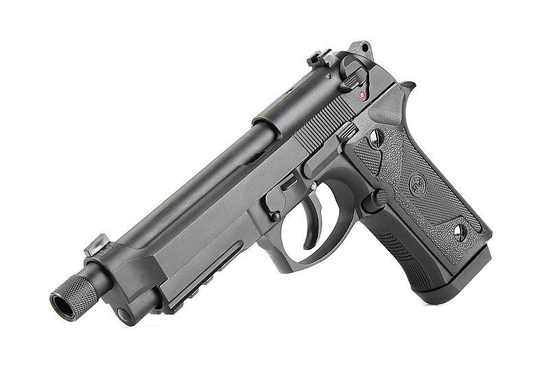 SRC【戰術黑】M9A3  雙動力 全金屬瓦斯槍 GBB CO2 雙系統 (附贈槍箱),手槍 BB槍 M92 貝瑞塔