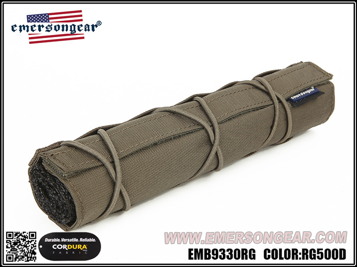 EmersonGear 愛默生【RG色】藍標系列 22cm 消音/滅音管保護套