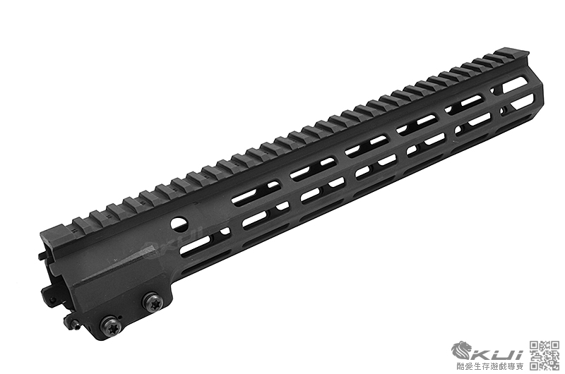 HAO【黑色】HAO MK16 URG-I M-LOK 13.5吋魚骨護木 軍規刻字