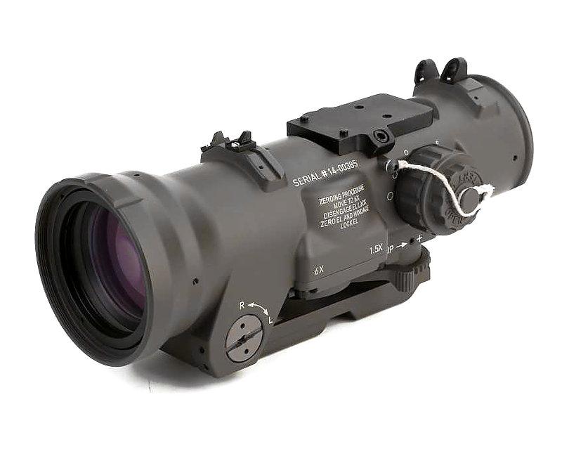 預購-EmersonGear 愛默生 複刻ELCAN Specter DR 火車頭 1.5-6倍 快速切換瞄準鏡