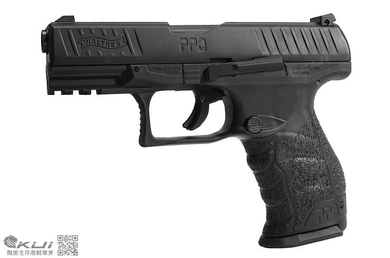 WALTHER『特仕版-BLACK』PPQ M2 11mm 黑色訓練用槍 CO2鎮暴槍 鋼製外管,耐用度更高!