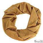 點一下即可放大預覽 -- 沙色網狀圍巾、方巾、圍巾、披肩、頭巾~可當偽裝網使用