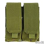 點一下即可放大預覽 -- OD 綠色~美軍 MOLLE 模組化雙連裝彈匣袋,收納袋,掛包,收納包