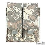 點一下即可放大預覽 -- ACU~美軍 MOLLE 模組化雙連裝彈匣袋,收納袋,掛包,收納包