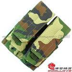 點一下即可放大預覽 -- 叢林迷彩(美軍大迷彩)~美軍 MOLLE 模組化雙連裝彈匣袋,收納袋,掛包,收納包