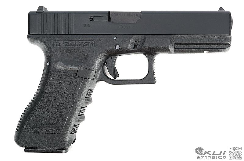 可連發~KSC/KWA G18C 克拉克 瓦斯槍,手槍,短槍,生存遊戲BB槍(鋁合金滑套+鋁合金槍管)