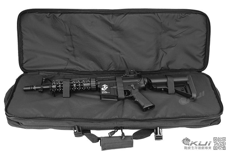 (台製) 88公分雙槍袋~ 戰術長槍袋,雙肩背袋~最長可延伸至118公分(槍背袋 攜行袋 BB槍袋 手提袋 防護袋)
