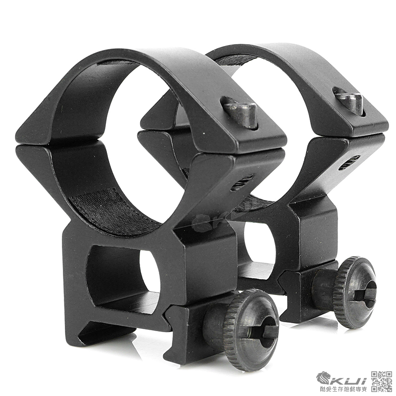 30mm高寬軌夾具(槍燈,狙擊鏡用)(一對 2個)