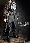 黑色 XL號~美軍 特戰版 迷彩套服,迷彩服,戰鬥服,休閒服,戶外服,軍服,軍裝(衣服+褲子)