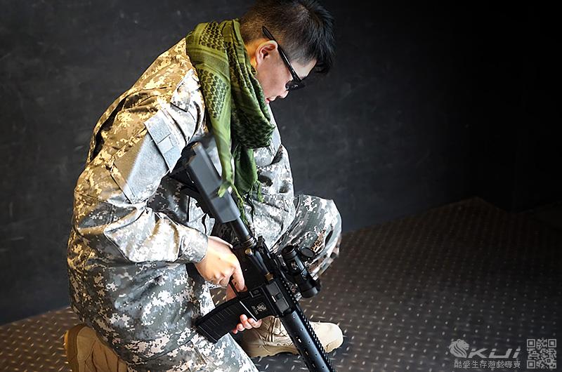 美軍三代ACU迷彩套服BDU特戰版 (M號上衣+褲子) 迷彩服 戰鬥服