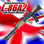 點一下即可放大預覽 -- 一芝軒 ICS L86 A2 SA-80 LSW 犢牛式 英國皇家輕機槍,電動槍