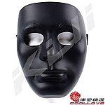 黑色~小丑面具,外國人臉型面具,造型面罩,保護,護臉,防護面具,(生存遊戲可用)