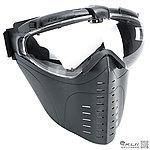 戰斧全罩式風扇面罩,造型面罩,護目鏡 - 生存遊戲 帶眼鏡可用 (黑色)