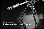 點一下即可放大預覽 -- VFC EXTREME TACTICAL BIPOD 戰術腳架(可伸縮)