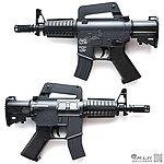 點一下即可放大預覽 -- UHC MINI M4A1 Q版電動槍,小朋友電動槍∼買槍送電池