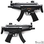 點一下即可放大預覽 -- UHC MINI MP5 Q版電動槍,小朋友電動槍∼買槍送電池
