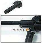 點一下即可放大預覽 -- 警星 AUG 鋼製前握把連桿(JG、CA、MARUI 通用)