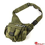 點一下即可放大預覽 -- 軍綠色~特戰勤務鞍袋,旅行包,單肩包,休閒包,斜背包