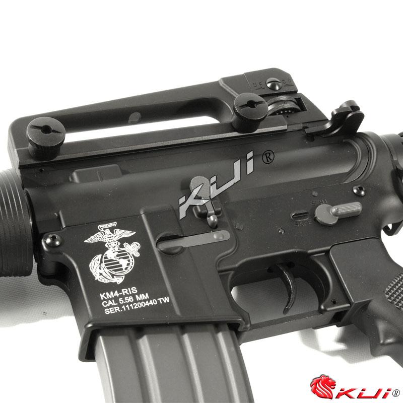 反恐部隊都在用!KWA/KSC M4 RIS 海豹托 全金屬電動槍,電槍(二代金屬 9mm BOX)