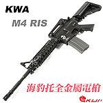 點一下即可放大預覽 -- M140 升級版~KWA/KSC M4 RIS 海豹托 電動槍,電槍(全金屬,二代金屬 9mm BOX)