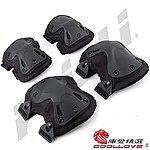 點一下即可放大預覽 -- 黑色~變形金剛 HATCH 護具組護膝、護肘,護具組,保護安全(自行車、單車、戶外運動、生存遊戲可用)