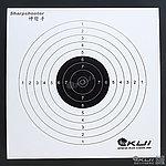 點一下即可放大預覽 -- 加厚型~集彈靶專用靶紙(50入)